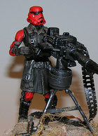 custom star wars _ Red Stormtrooper Hasbro