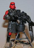 custom star wars _ Red Stormtrooper Hasbro