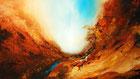 """""""Aus der Tiefe 4""""     100 x 70 cm  Acryl auf Leinwand  Galeriekeilrahmen  2013"""