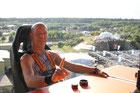 Skydinner: 50m Freiheit zum Boden....