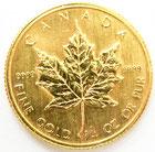 K24 純金 1986 カナダ メイプルリーフ 金貨 コイン