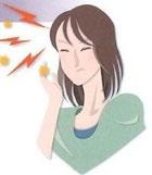 片頭痛の様子