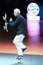 Skateboard Show im Audi Dome. Eddie Haack