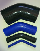 45 Degree Silicone Bends