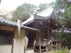 鴨布勢神社