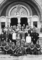 Mijnwerkersbrancardiers-bedevaart lourdes 1953