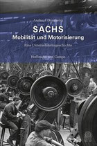 Cover des Buches Sachs Mobilität und Modernisierung.