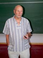 Ulrich Wotschikowsky auf dem Wolfsseminar des ÖJV Bayern 2015 in Freising