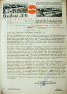 Geha AG an Ortspolizei Göttingen, 23.5.1933. Foto: StA Göttingen