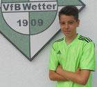 Felix Merte legte mit den ersten vier Treffern den Grundstein zum 9:0-Sieg