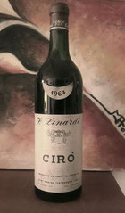 Il primo Vino Cirò Linardi Rosso 1964