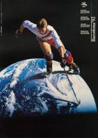 Plakat der Olympiade 1992 in Barcelona