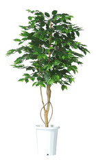 人工樹木ミックスフィカスシングルバイン H1500