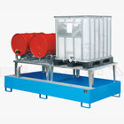 Stahl-Auffangwannen für Fässer