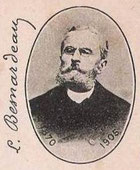 Auto portrait de Léon Besnardeau
