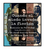 Cuando el miedo invade la ficción, series, UPV/EHU, Delicia Aguado Peláez