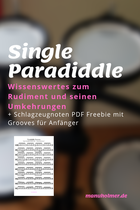 Single Paradiddle Rudiment Wissenswertes