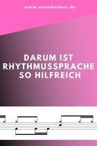 Rhythmussprache Taktsprache Musikunterricht