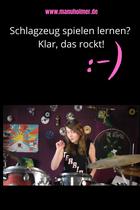Schlagzeug spielen lernen Übungen für Anfänger