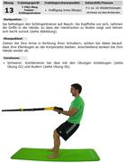 Trainingskarte Sport Dominik Langenegger Schlingentrainer
