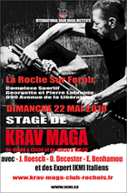 Stage international krav maga IKMI 2016 La Roche sur Foron