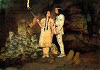 Winnetou II  (24) - Die Häuptlingstochter Ribanna zeigt Winnetou die geheime Zufluchtsstätte der Assinibins