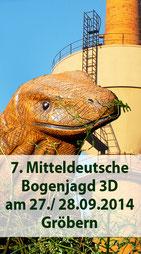 7. Mitteldeutsche Bogenjagd in Gröbern am 27./. 28.09.2014