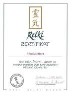 Reiki Meister Grad III