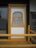 火燈窓付き間仕切建具