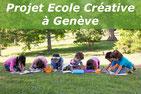 Projet école créative