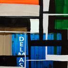 Monika Humm abstrakte Malerei in Mischtechnik aus der Global Serie