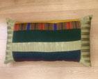Coussins rectangulaires en soie