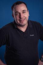 Frank Hupe. Erster Vorsitzender, Sanitäter, anerkannter Ausbilder nach §68 FeV.  Anerkannter BG-Ausbilder für die DGUV 1.