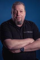 Frank H. Wenzlow. Erster Vorsitzender, Rettungsassistent, zertifizierter AED Ausbilder, medizinischer Fachdozent.