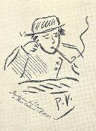 Rimbaud fume la pipe mais pas une Louis Vuitton