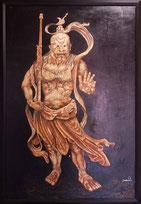 金剛力士像(阿形)12月8日~13日蔵のギャラリ「江島屋」にて個展開催