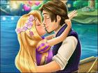 Игра поцелуй Рапунцель и Флина