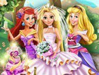 Игра свадебная вечеринка Рапунцель и ее подружек
