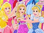 Игра принцессы Диснея на шоппинге