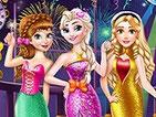 Игра новогодний бал принцесс Диснея