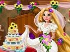 Игра украшение зала на свадьбе Рапунцель