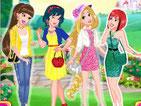 Игра одевалка модницы принцессы Диснея