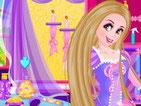 Игра прическа принцессы Рапунцель