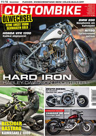 Custombike 11/16 cover an 6-page report on the cafe dragstar
