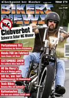 Biker News 02/14 5-seitiger Bericht über die Scoop