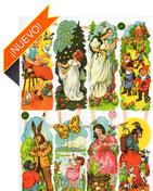 Cromos de cuentos tradicionales