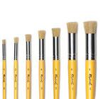Pinceles para stencil (plantillas) de gran calidad.