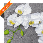 Servilletas decoradas con orquídeas para decoupage.