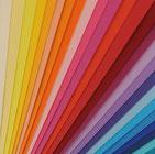 Carlunias lisas de colores para manualidades y scrap.