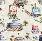 Servilletas para decoupage con motivos de cupcakes, caramelos, chocolate...